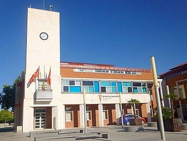 Ayuntamiento en la localidad de Rivas Vaciamadrid